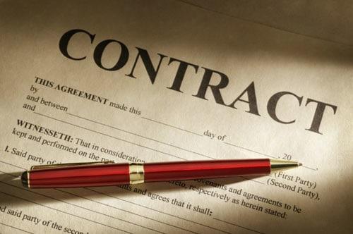 written contract
