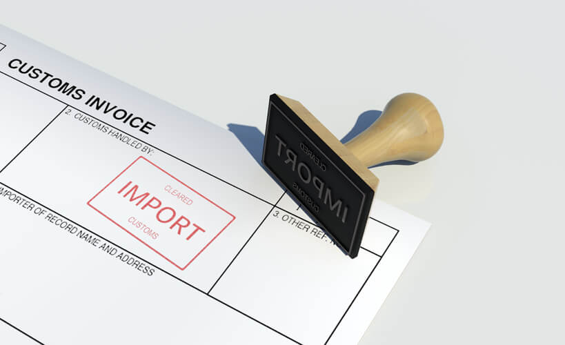 import duties - Riwick
