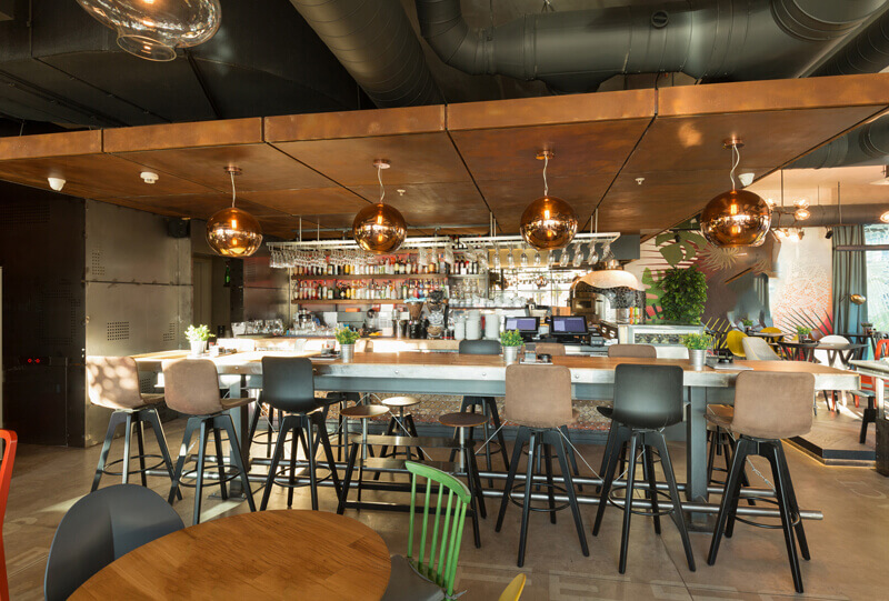 Restaurant furniture project - Riwick sourcing agent