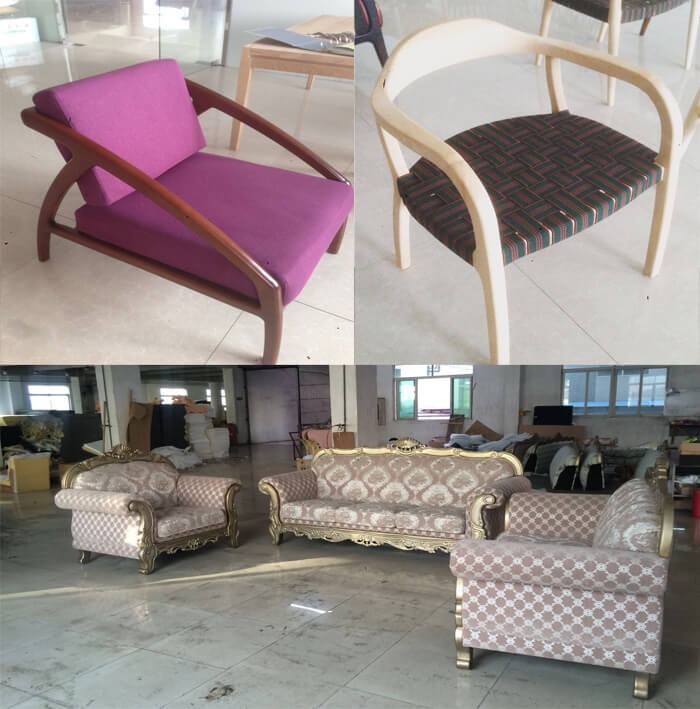 Furniture samples