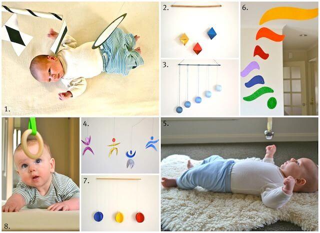 Baby handwork hanging bells