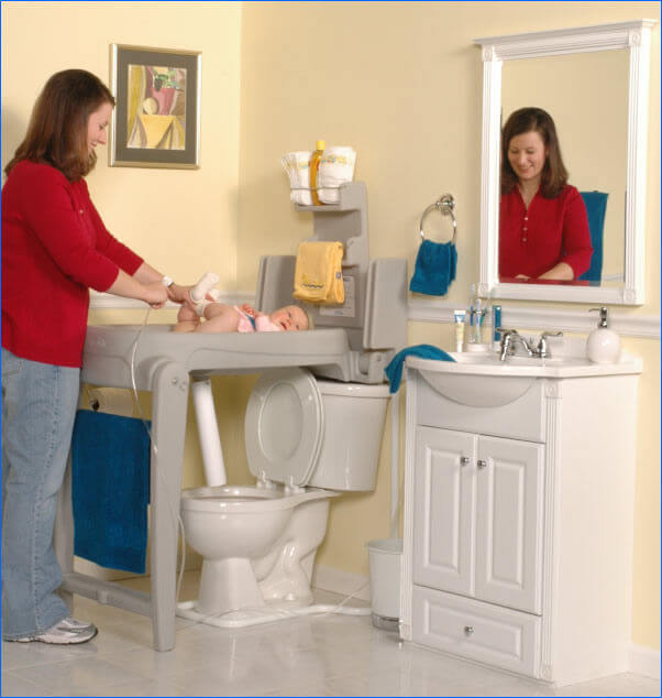 diaper table