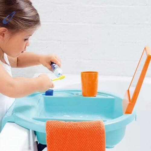 kids' restroom