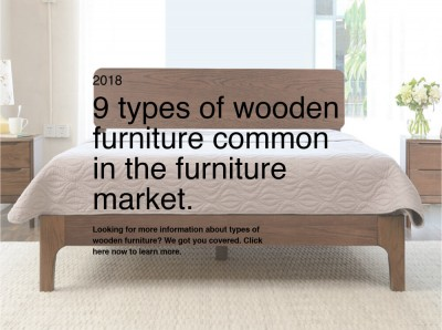 9 types of wooden furniture common in the furniture market