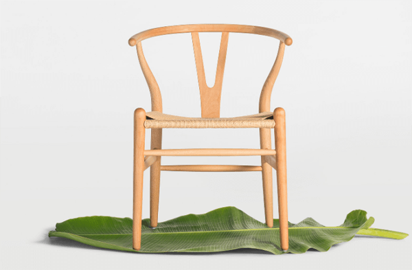 Beech Y chair