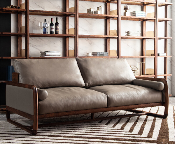 Black Walnut sofa