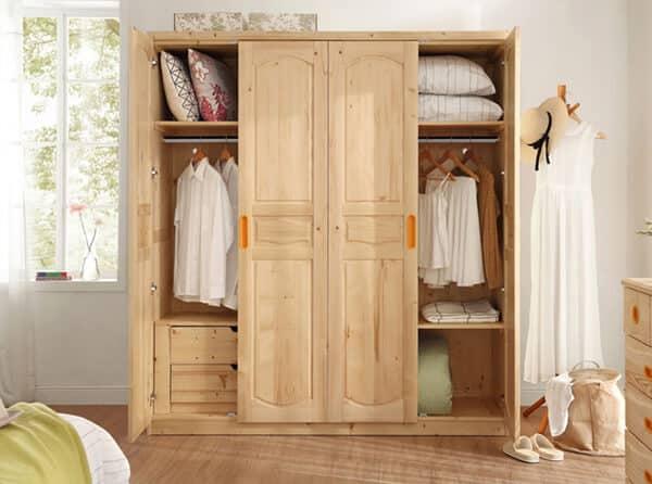 Pinewood wardrobe