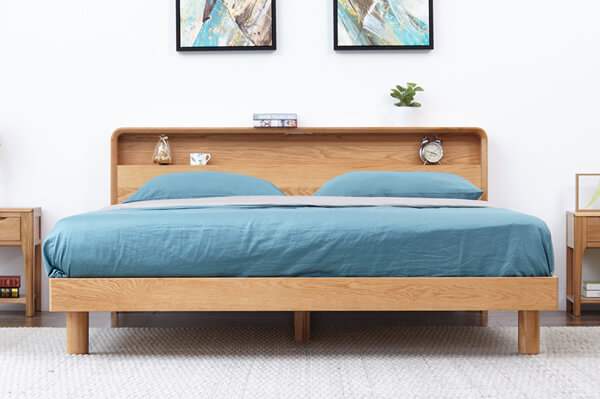 Red Oak bed set