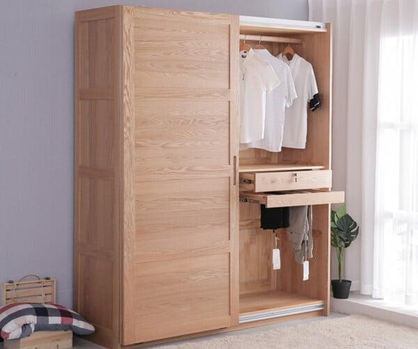 Red Oak wardrobe