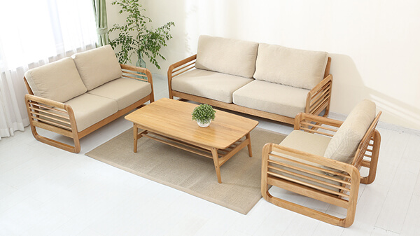 White Oak sofa