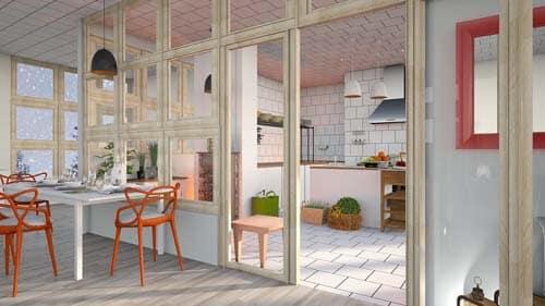 Kitchen-White-tile