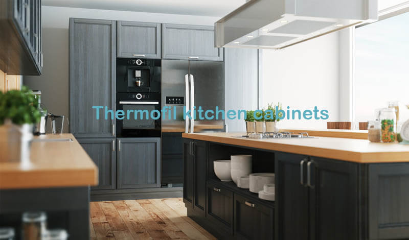 Thermofil kitchen cabinets