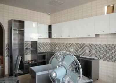 cream kitchen cabinets 2
