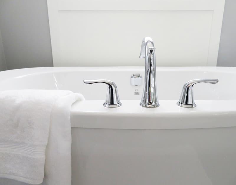 Bathroom Fitting-Tub-Bathtub-White-Hygiene-Bath-Bathroom-Modern