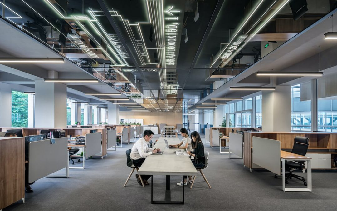 How Modern Office Furniture Affects Employees' Productivity
